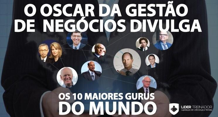 O Oscar da gestão de negócios divulga os 10 maiores gurus do Mundo